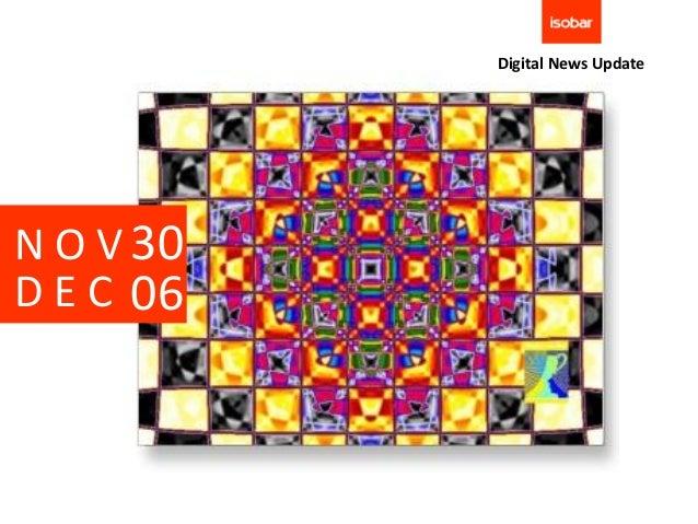 Digital News UpdateN O V 30D E C 06