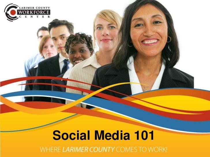 Social Media 101 for Job Seekers
