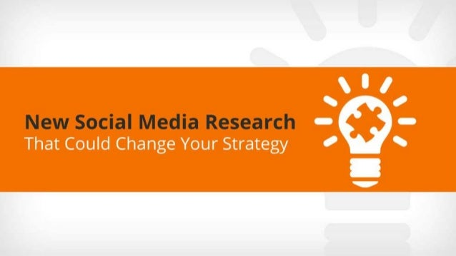New social media research that could change your strategy