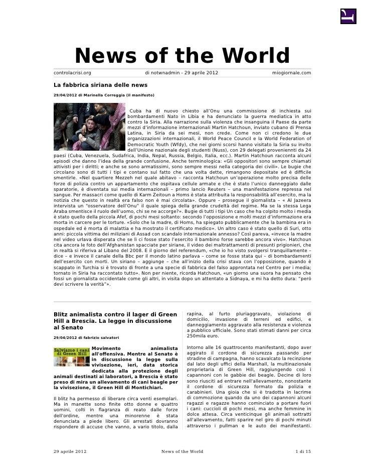 News of the Worldcontrolacrisi.org                          di notwnadmin - 29 aprile 2012                          miogio...