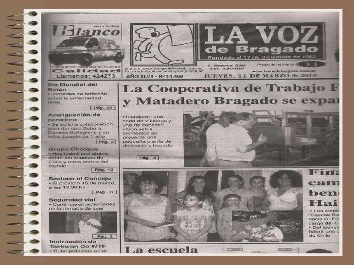 Bragado's Newspaper