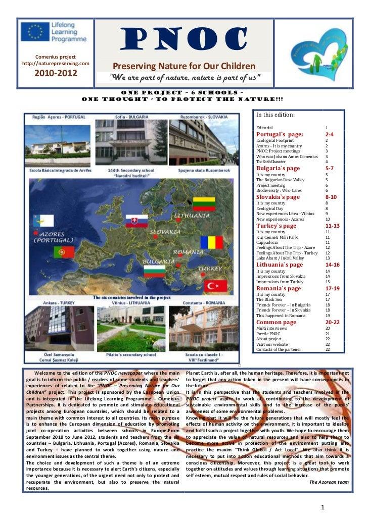Comenius project                                           PNOChttp://naturepreserving.com                                ...