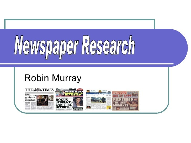 Newspaper history pp