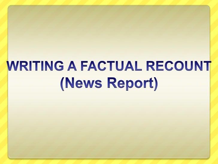 factual essay examples