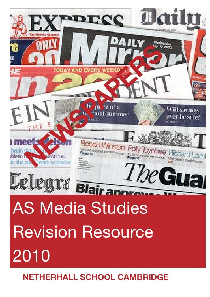 Newspaper revision guide compressed
