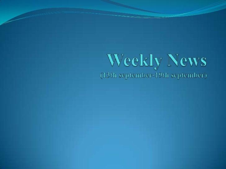 News ppt