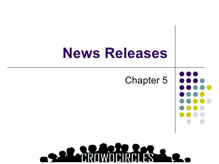 How To Create A News Release