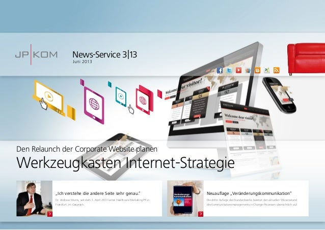 """News-Service 3 13Juni 2013Neuauflage """"Veränderungskommunikation""""Die dritte Auflage des Standardwerks bereitet den aktuelle..."""