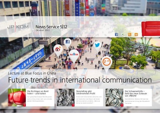 News-Service 5|12Oktober 2012Die Schwanenhöfe –bald das neue Zuhausevon JP|KOMGeschäftsführer Andreas Voß über denbevorste...