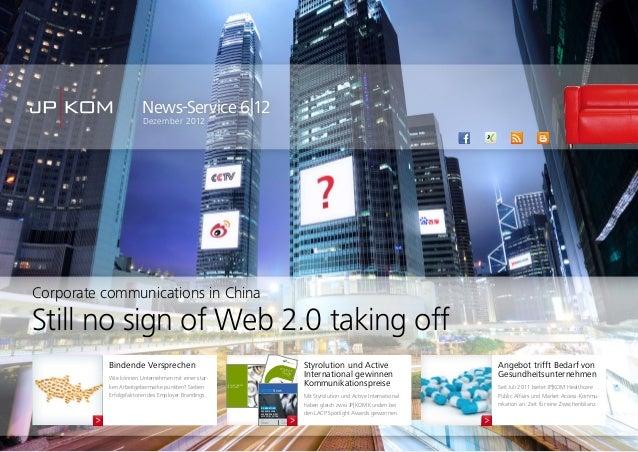 News-Service 6|12Dezember 2012Angebot trifft Bedarf vonGesundheitsunternehmenSeit Juli 2011 bietet JP|KOM HealthcarePublic...