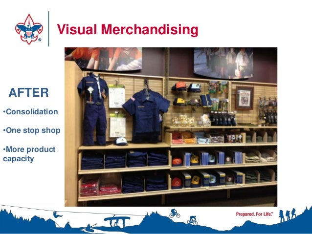 Visual Merchandising AFTER•Consolidation•One stop shop•More productcapacity