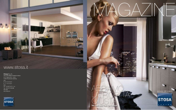 New stosa magazine