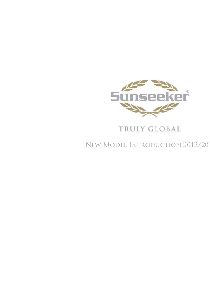 Sunseeker New Model Preview
