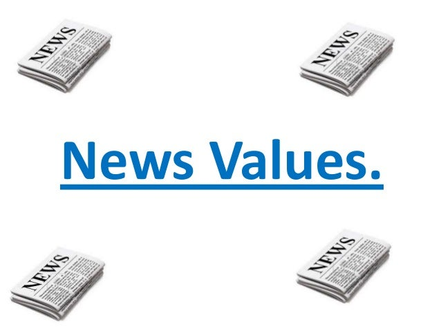 News Values.