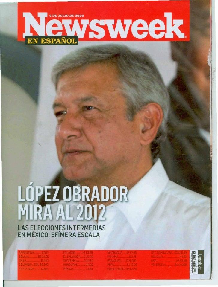 Newsweek Julio 2009