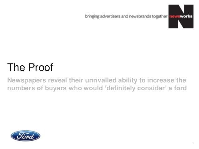 Newsworks Ford effectiveness