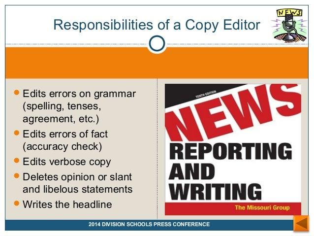 English writing basics