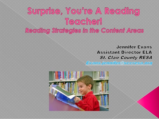 Reading Strategies Reading Process Importance of Explicit Instruction and Engagement Research Welcome