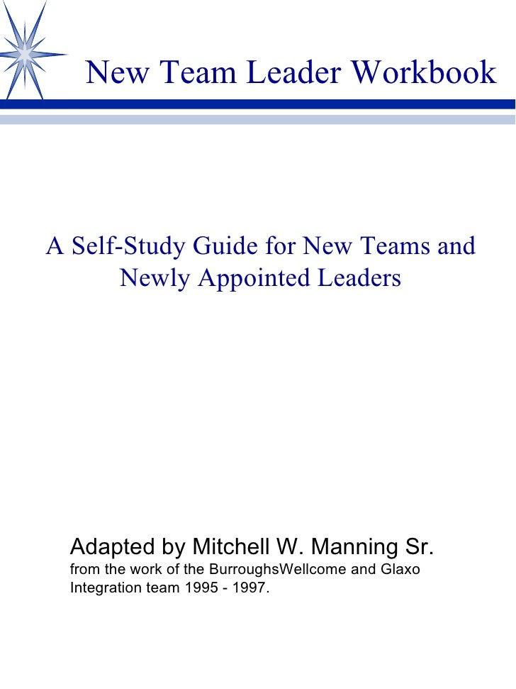 New Team Leader Workbook