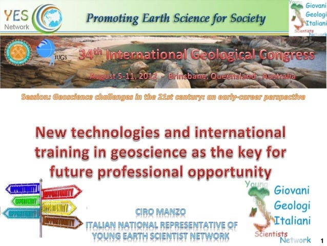 New technologies and international training in geoscience as3