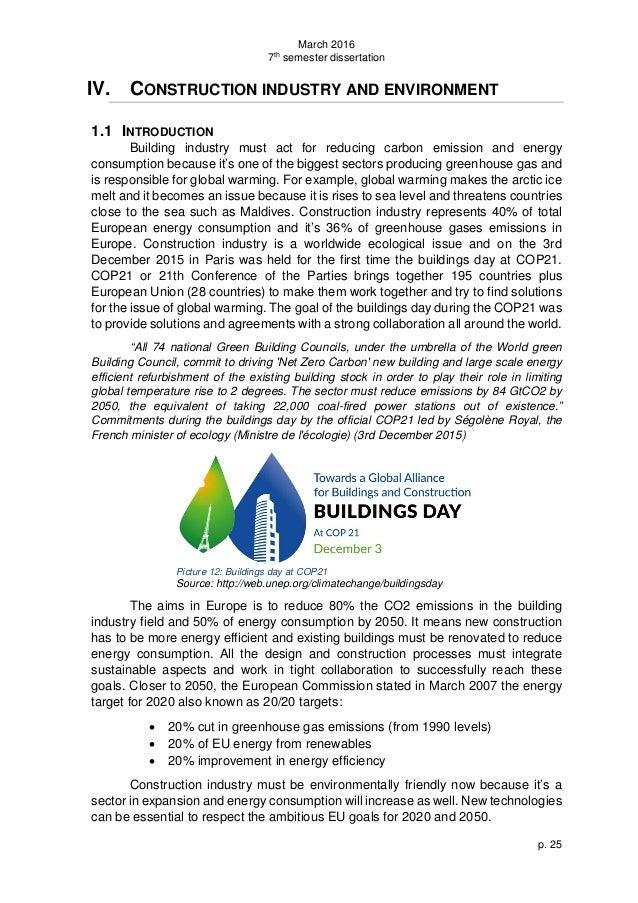 Construction innovation dissertation