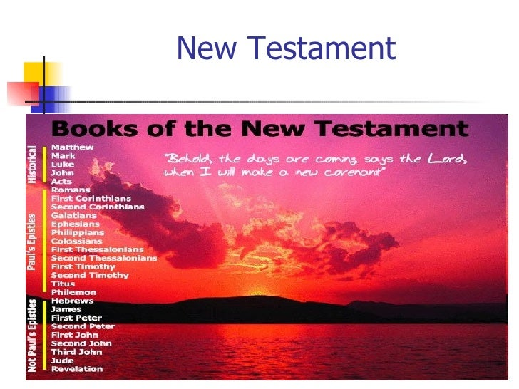 New Testament Gospels Of Matthew And Mark