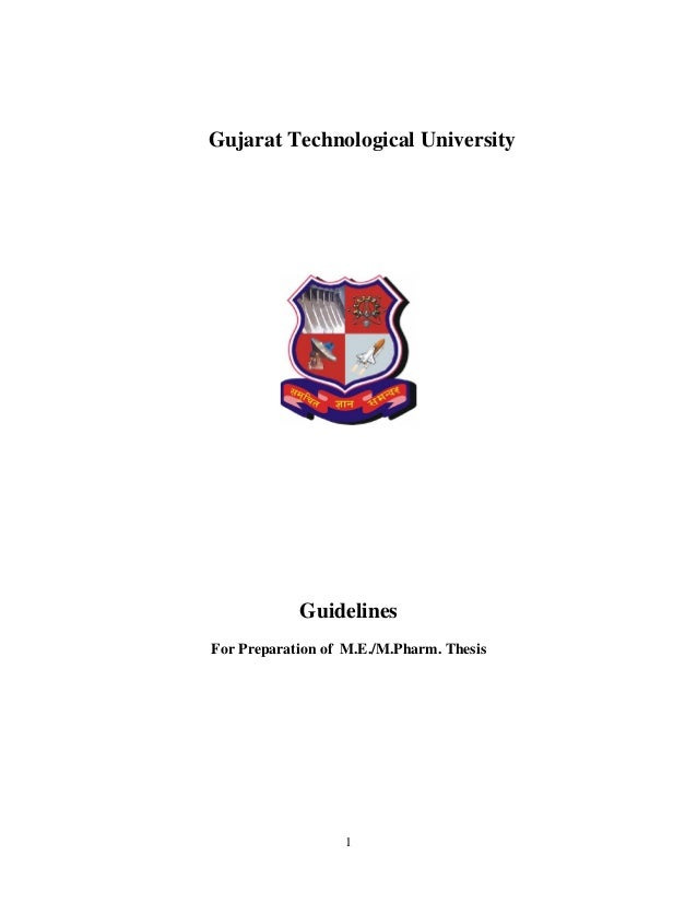 thesis engineering