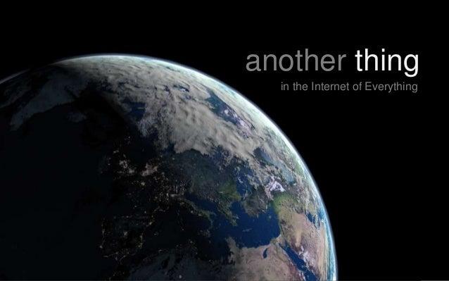Internet of Everything & Land