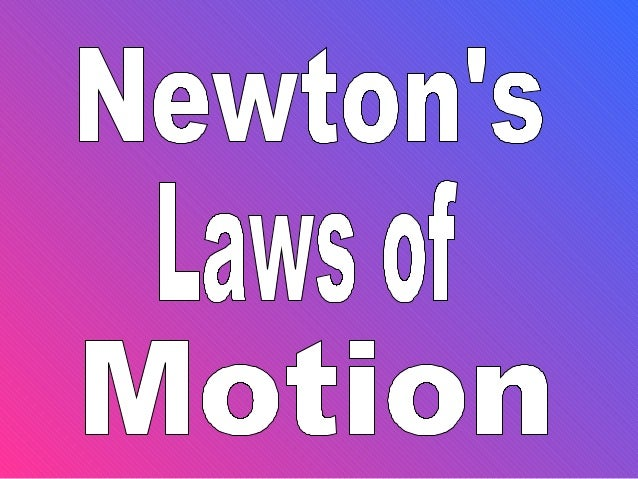 Newton's laws 2012 megan