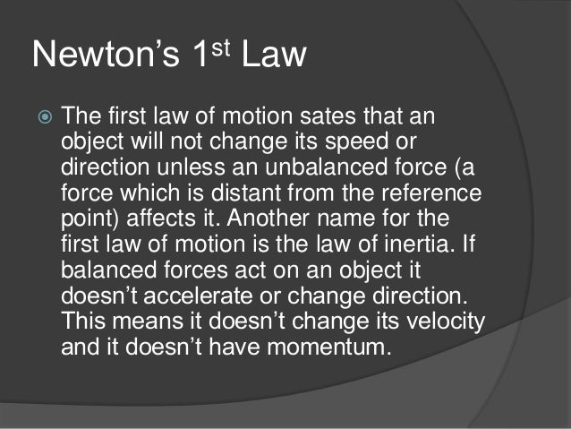 Newtons 1st Law Real Life Examples | www.imgkid.com - The ...