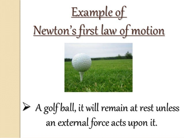 Newton S Laws For Kids Examples