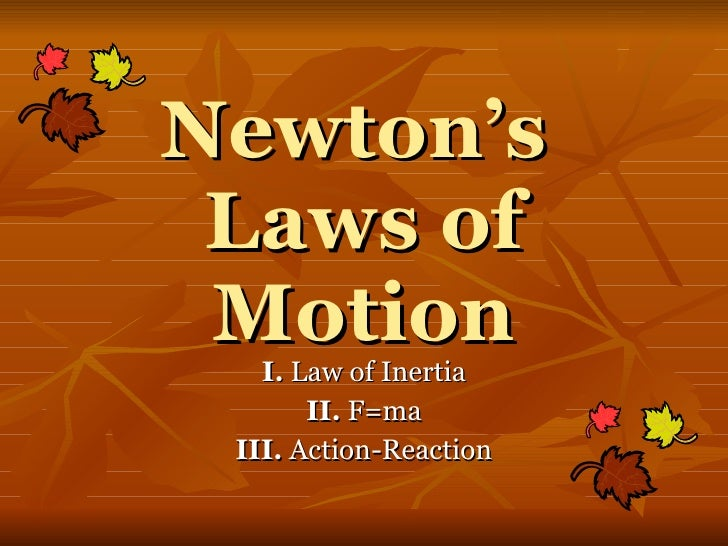 Newtons Laws Of Motion 2
