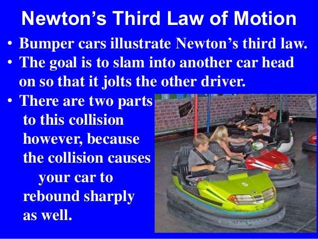 Bumper Cars Newtons  Law