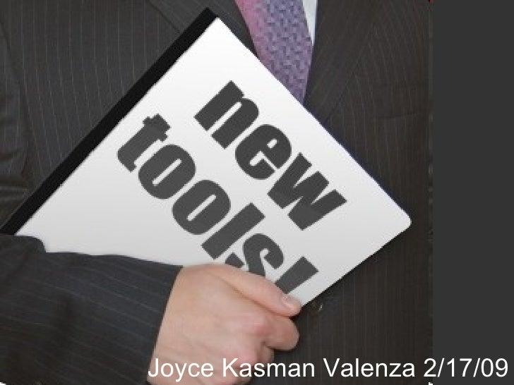 NewToolsWorkshop 2