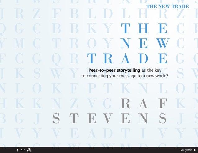 Peer to Peer Storytelling