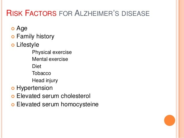 a look at the causes and prevalence of the alzheimers disease Alzheimer's disease synonyms: alzheimer disease the cause of alzheimer's disease is 0379% of people worldwide had dementia, and that the prevalence would.