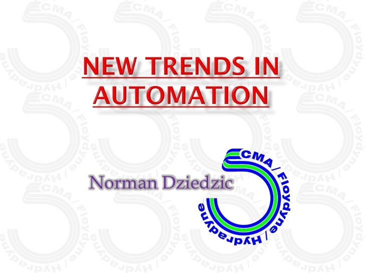New Trends in Automation