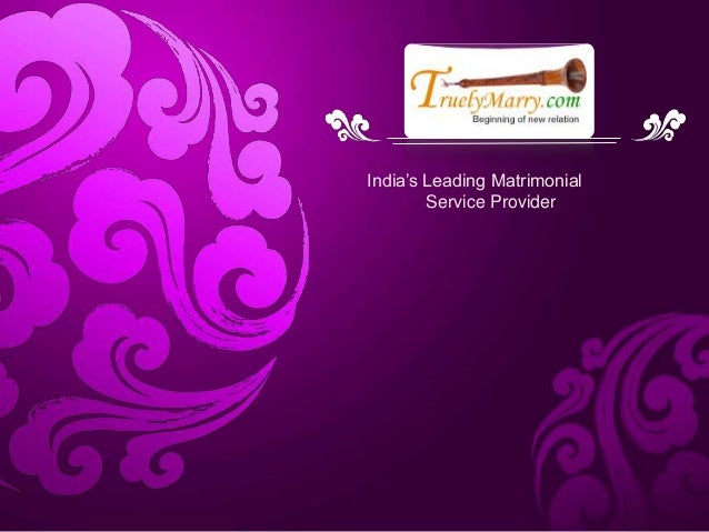 TruelyMarry-Indian Matrimonial Services