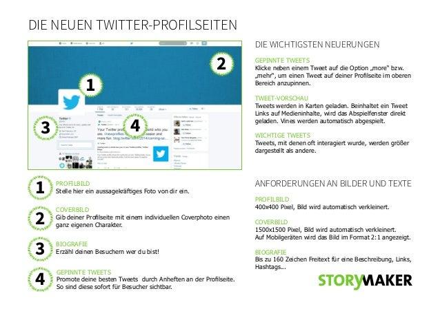 Redesign der Profilseiten bei Twitter: die wichtigsten Neuerungen