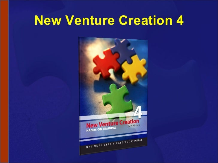 New Venture Creation 4