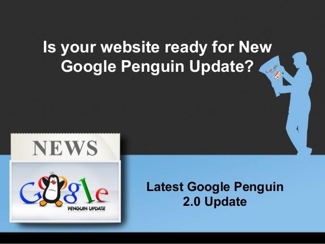 New  version of google penguin  2.0