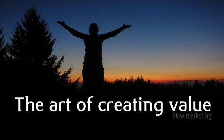 Crowdsourced presentatie: Nieuwe manieren van waarde creatie - nieuwe marketing | versie 1