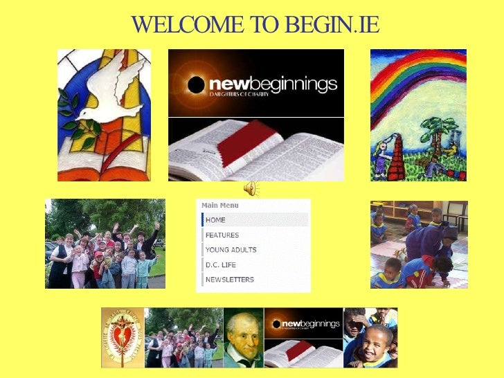 WELCOME TO BEGIN.IE