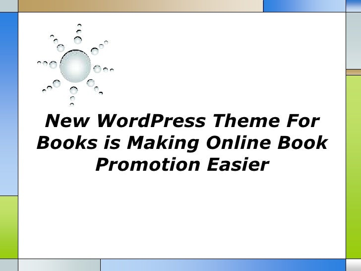 New WordPress Theme ForBooks is Making Online Book     Promotion Easier