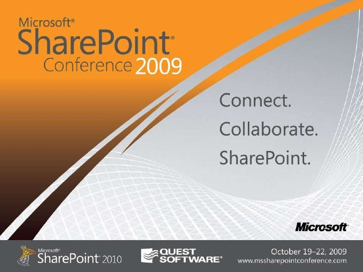 New World Of 2010 Share Point Administration