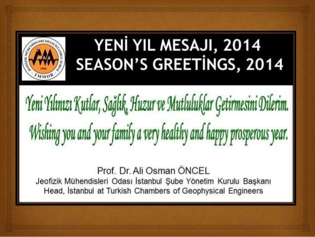 Happy New Year - Yeni Yılınız Kutlu Olsun