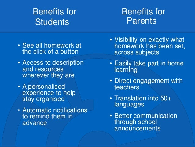 Benefits Of Homework Research