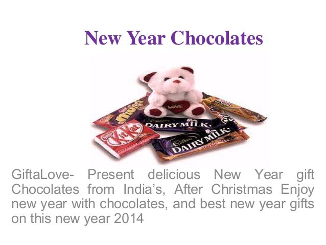 New Year Chocolates  GiftaLove- Present delicious New Year gift Chocolates from India's, After Christmas Enjoy new year wi...