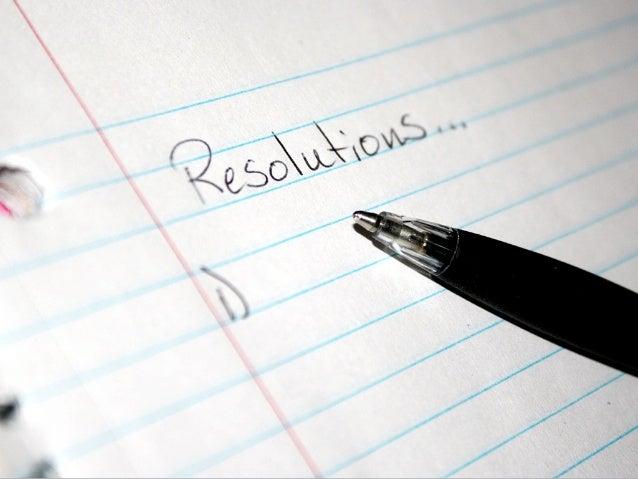 """40% de los adultos en EE.UU.hacen """"New Year's Resolutions"""""""