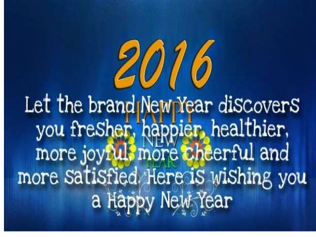 Wonderful Happy New Year Quotes, Wishes, Cards 2016 Home Design Ideas